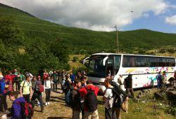 Pamje nga aktivitetet e Klubit Alpin Prishtina