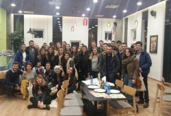 Vizite nga UBT në Tiranë